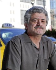 Ghaleb Ibrahim of MKE Taxi - photo courtesy of Institute for Justice