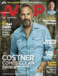 AARP Magazine Kevin Costner Issue