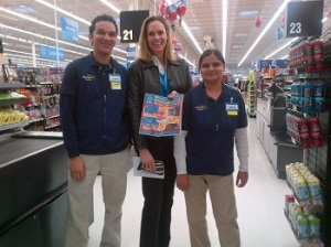 laura-phillips-stops-in-a-walmart-store-to-help-prepare-merchandise-for-black-friday