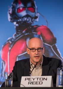 "London UK – JULY  7:  Director Peyton Reed at the press conference for Marvel's ""Ant-Man"" in London on July 7, 2015 (Credit: James Gillham / StingMedia.co.uk)"