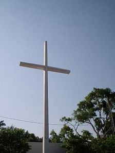 Cross at Bayview Park
